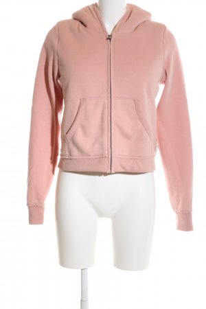 Abercrombie & Fitch Sweatjacke pink Casual-Look