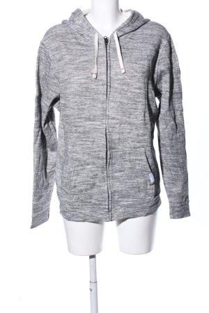 Abercrombie & Fitch Giacca fitness grigio chiaro puntinato stile casual