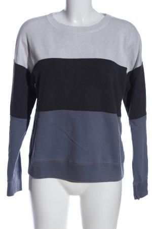 Abercrombie & Fitch Sweatshirt hellgrau-blau Casual-Look