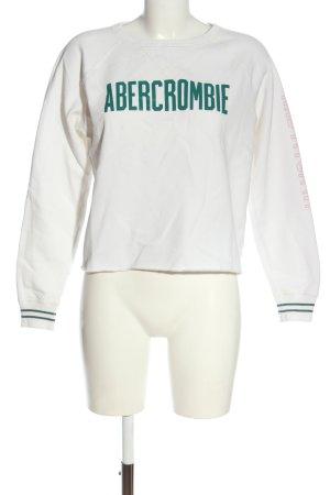 Abercrombie & Fitch Sweatshirt Motivdruck Casual-Look