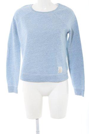 Abercrombie & Fitch Sweatshirt blau meliert Casual-Look