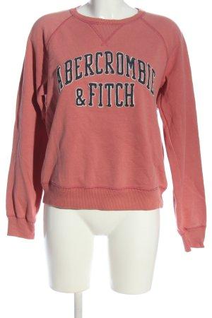 Abercrombie & Fitch Felpa rosa stile casual