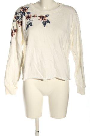 Abercrombie & Fitch Sweatshirt Blumenmuster Casual-Look