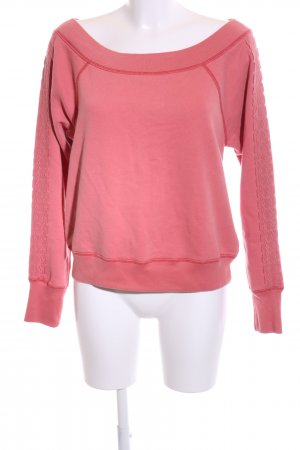 Abercrombie & Fitch Sweatshirt rot Casual-Look