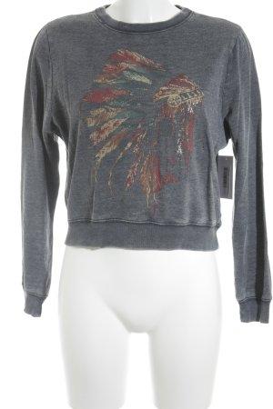 Abercrombie & Fitch Sweatshirt meliert Casual-Look
