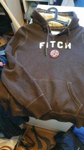 Abercrombie & Fitch Koszulka z kapturem brązowy