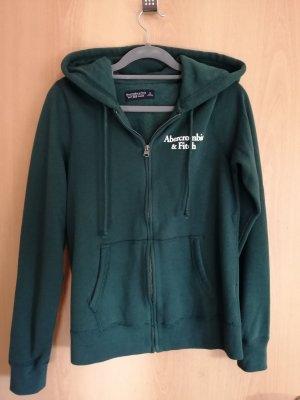 Abercrombie&Fitch Sweatshirtjacke Dunkelgrün S