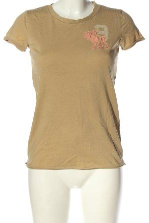 Abercrombie & Fitch T-shirt Nadruk z motywem W stylu casual