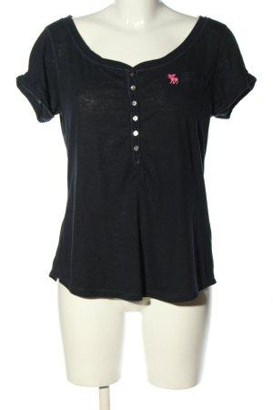 Abercrombie & Fitch T-shirt noir style décontracté