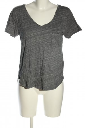 Abercrombie & Fitch T-Shirt hellgrau meliert Casual-Look