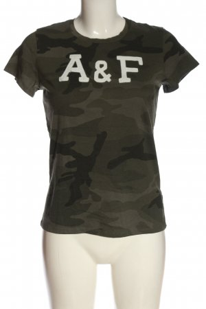Abercrombie & Fitch T-Shirt Animalmuster Casual-Look