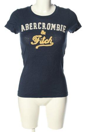 Abercrombie & Fitch T-Shirt Schriftzug gedruckt Casual-Look