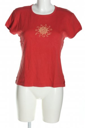 Abercrombie & Fitch T-Shirt red themed print casual look