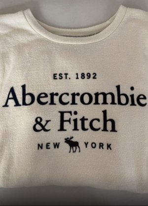 Abercrombie & Fitch T-Shirt creme