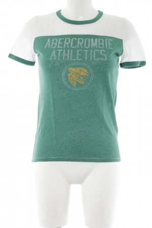 Abercrombie & Fitch T-Shirt Motivdruck Casual-Look