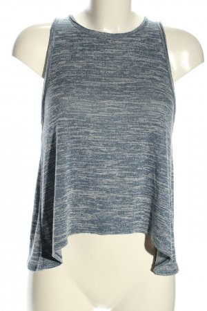 Abercrombie & Fitch T-Shirt blau-weiß meliert Casual-Look