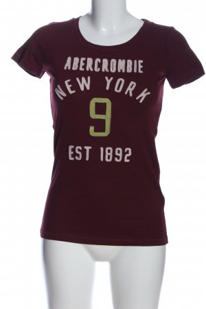 Abercrombie & Fitch T-Shirt mehrfarbig Casual-Look