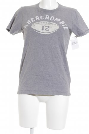 Abercrombie & Fitch T-Shirt grau Casual-Look