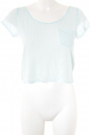 Abercrombie & Fitch T-Shirt himmelblau Casual-Look