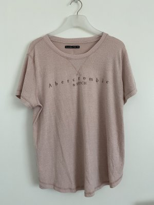 Abercrombie & Fitch T-shirt vieux rose