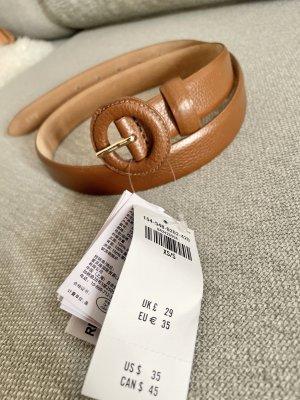 Abercrombie & Fitch Cinturón pélvico coñac-color oro