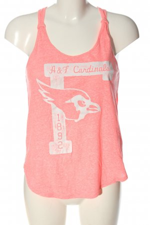Abercrombie & Fitch Tanktop roze-wit gestippeld casual uitstraling