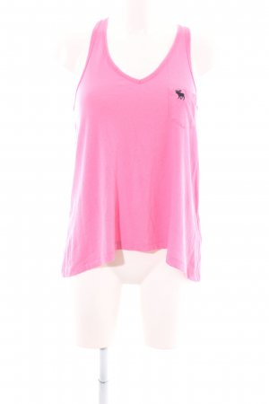 Abercrombie & Fitch Tanktop pink Casual-Look