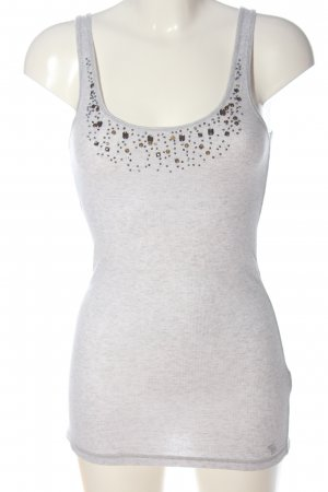 Abercrombie & Fitch Tanktop lichtgrijs casual uitstraling