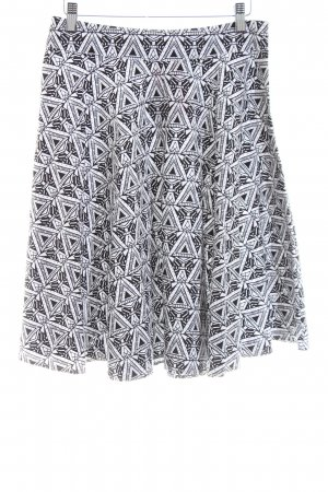 Abercrombie & Fitch Falda circular negro-blanco look casual