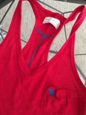 Abercrombie & Fitch Basic topje rood