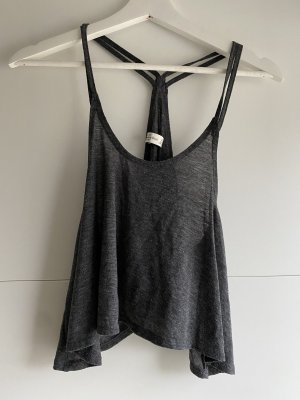 Abercrombie & Fitch Cropped top donkergrijs-grijs