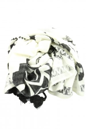 Abercrombie & Fitch Traditional Scarf white-black casual look