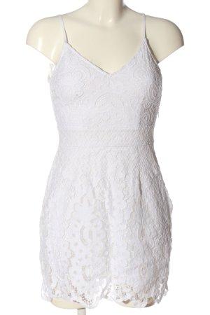 Abercrombie & Fitch Vestido tipo overol blanco elegante