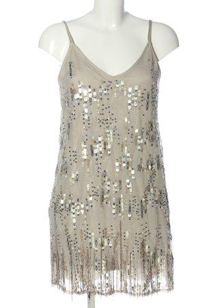 Abercrombie & Fitch Vestido tipo overol blanco puro elegante