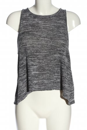 Abercrombie & Fitch Strappy Top light grey flecked casual look