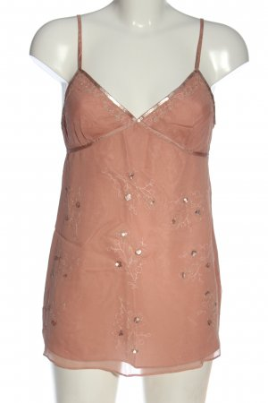 Abercrombie & Fitch Trägertop pink Blumenmuster Casual-Look