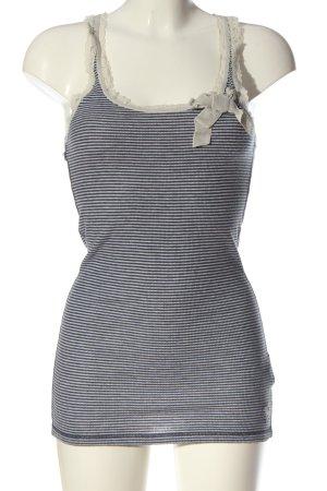 Abercrombie & Fitch Trägertop schwarz-weiß Allover-Druck Casual-Look
