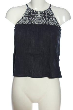 Abercrombie & Fitch Trägertop schwarz-weiß Casual-Look