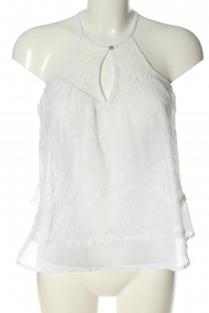 Abercrombie & Fitch Blouse topje wit casual uitstraling