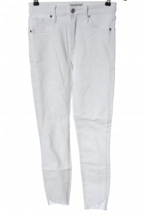 Abercrombie & Fitch Treggings bianco stile casual