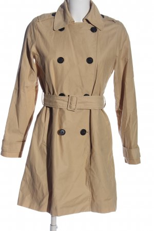 Abercrombie & Fitch Trench crema stile casual