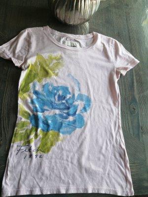 Abercrombie & Fitch Tshirt Gr 36 Baumwolle Blume