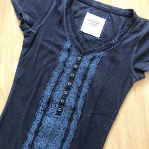 Abercrombie & Fitch T-Shirt dark blue