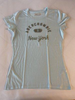 Abercrombie & Fitch Camiseta turquesa