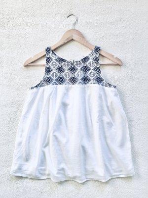 Abercrombie & Fitch Tunic white-dark blue