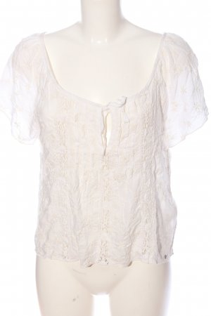 Abercrombie & Fitch Boatneck Shirt white-natural white casual look