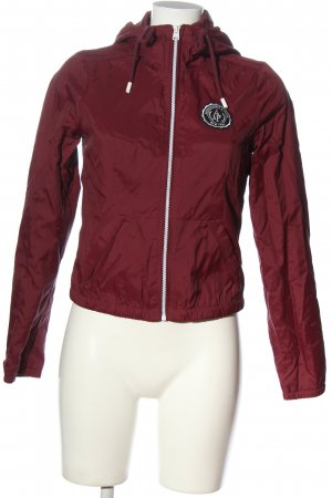 Abercrombie & Fitch Übergangsjacke rot Casual-Look