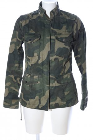 Abercrombie & Fitch Übergangsjacke Camouflagemuster Casual-Look