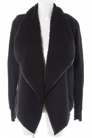 Abercrombie & Fitch Übergangsjacke schwarz Casual-Look