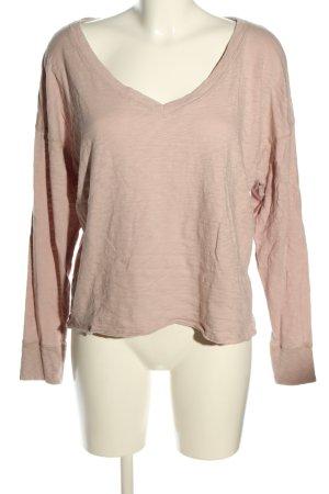 Abercrombie & Fitch V-Ausschnitt-Pullover braun Casual-Look